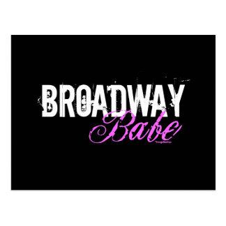 Broadway Babe Postcard
