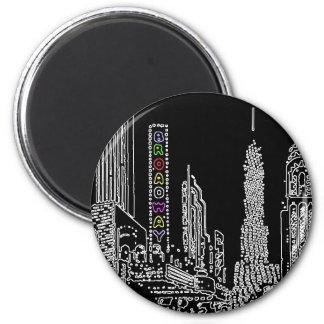 Broadway Bound 6 Cm Round Magnet