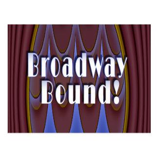 Broadway Bound! Post Card