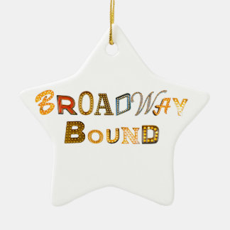 Broadway Bound Star Ornament