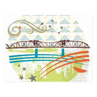 Broadway Bridge Portland Postcard