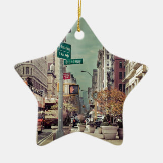broadway christmas ornament