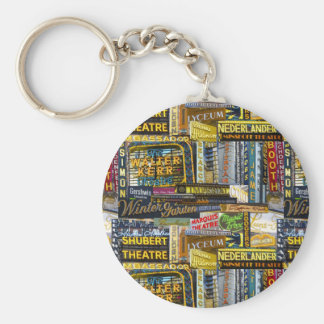 Broadway Keychain (Color)