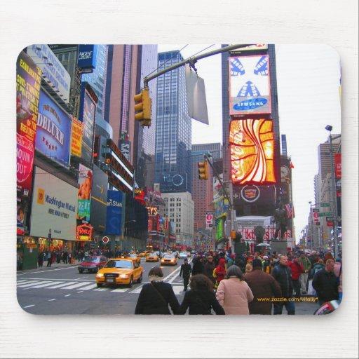 Broadway, Manhattan, New York City mousepad