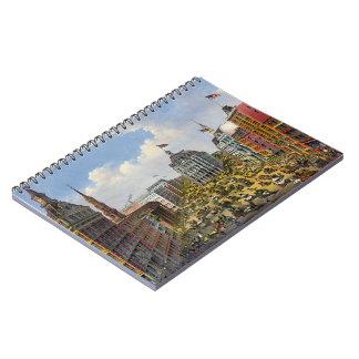 Broadway New York City 1875 Spiral Notebook
