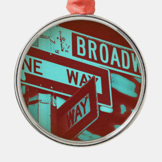 Broadway Sign Christmas Ornament