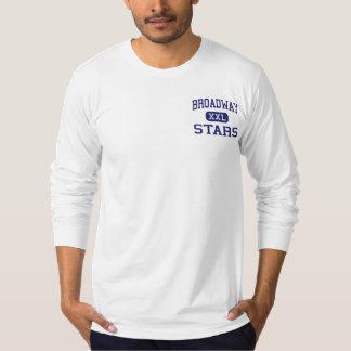 Broadway - Stars - High - San Jose California T-Shirt
