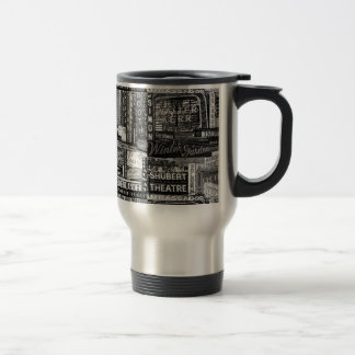 Broadway Travel Mug (B&W)