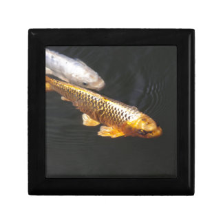 Brocade carp gift box