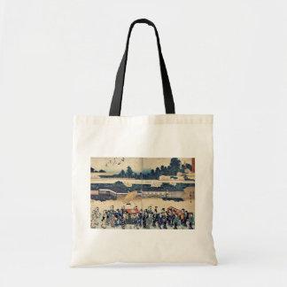 Brocade parade by Utagawa,Hiroshige Budget Tote Bag