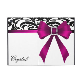 Brocade Pink Bow Damask Ipad Mini Case