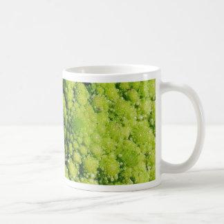 Brocco Flower Vegetable Basic White Mug