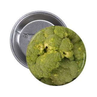 Broccoli 6 Cm Round Badge