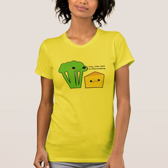 Broccoli and Cheese Date T-Shirt