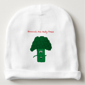 broccoli are baby trees baby beanie
