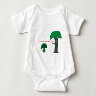 Broccoli Are Baby Trees Baby Bodysuit