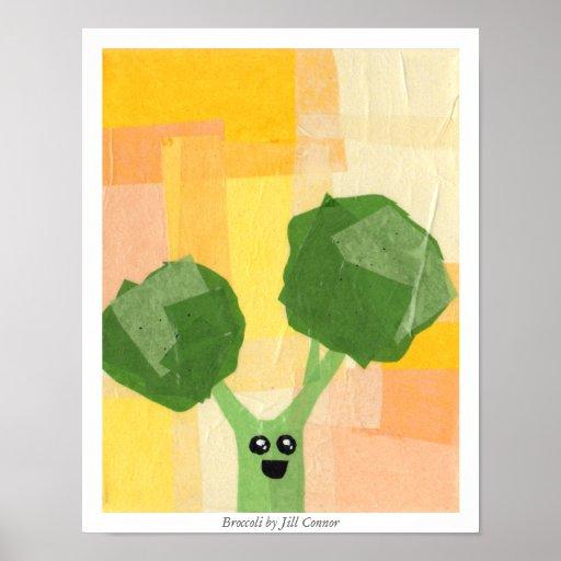 Broccoli by Jill Connor Poster