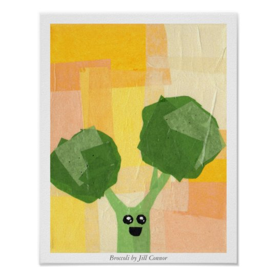Broccoli by Jill Connor Poster