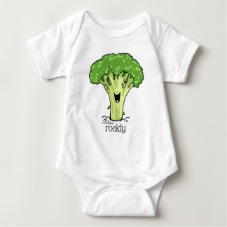 Broccoli Cartoon - Veggie Baby Bodysuit