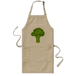 Broccoli Graphic Long Apron