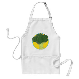 Broccoli Graphic Standard Apron
