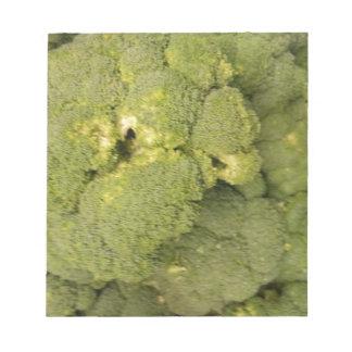 Broccoli Memo Note Pads