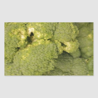 Broccoli Rectangular Sticker