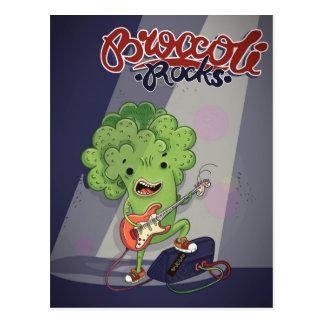 Broccoli Rocks Postcard