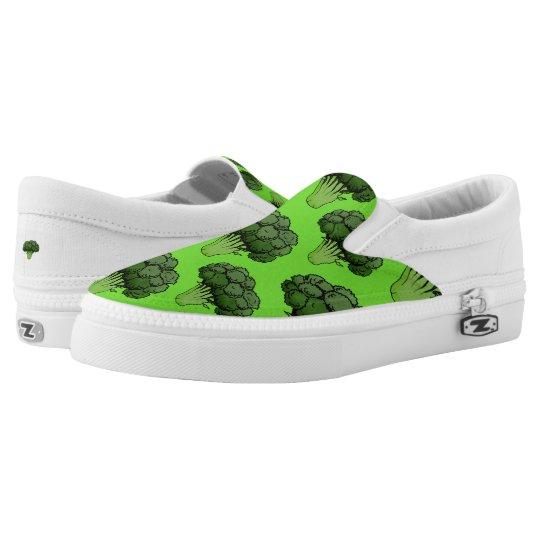 Broccoli Slip On Shoes