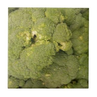 Broccoli Small Square Tile