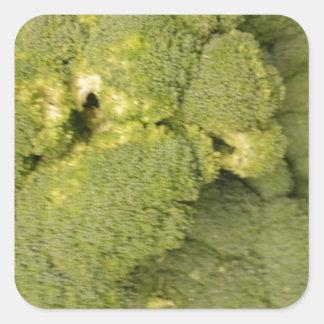 Broccoli Square Sticker