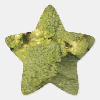 Broccoli Star Sticker