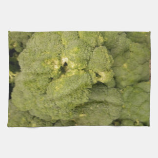 Broccoli Hand Towels