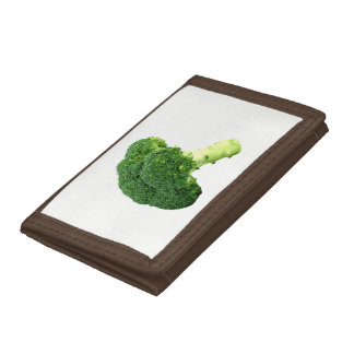 Broccoli Tri-fold Wallets