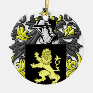 Brockhouse Coat of Arms Round Ceramic Decoration