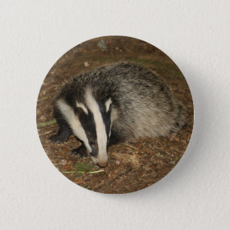 Brockwatch badger badge