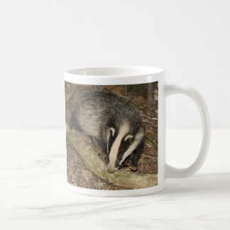 Brockwatch badger mug