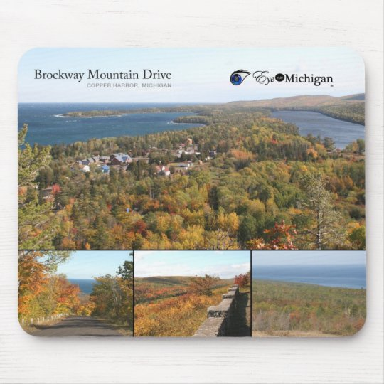 Brockway Mountain Drive - Copper Harbour Mouse Pad