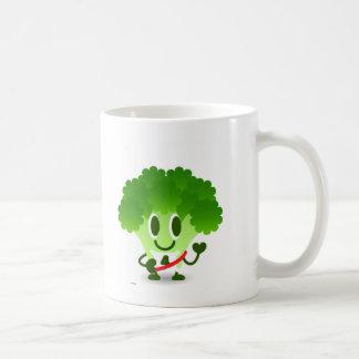 Brocolete Basic White Mug
