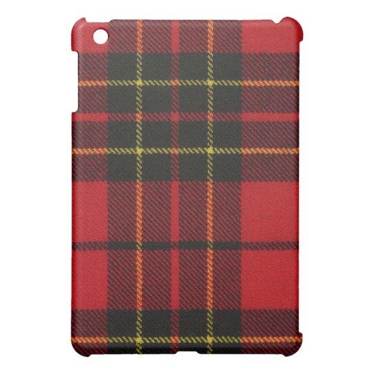 Brodie Red Modern Tartan iPad Case