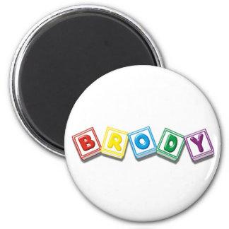 Brody 6 Cm Round Magnet