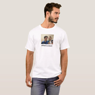 Brody and Tony on a Blake colored shirt