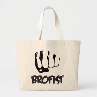 BROFIST!!! LARGE TOTE BAG