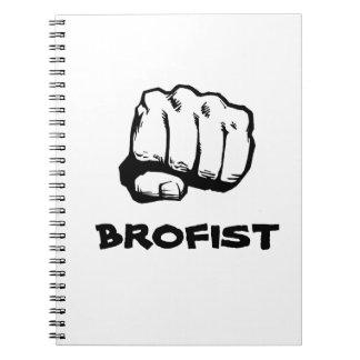 Brofist notebook