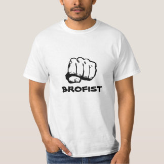 Brofist! White T-Shirt