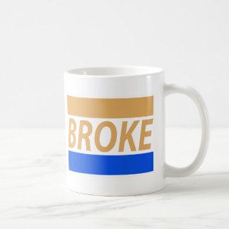Broke Basic White Mug