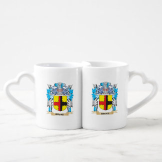 Broke Coat of Arms Couple Mugs