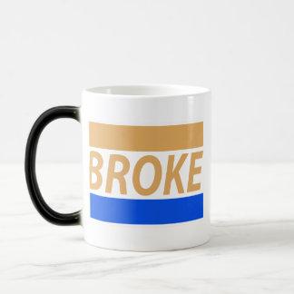 Broke Morphing Mug