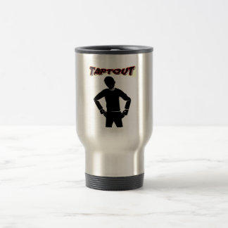Broke Stainless Steel Travel Mug