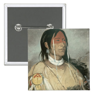 Broken Arm, 1831 (oil on canvas) 15 Cm Square Badge